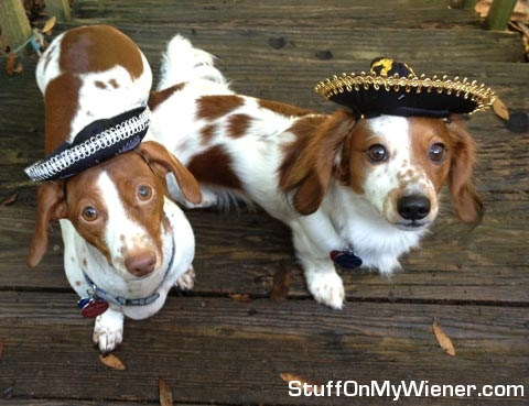Kody and Lilly in Sombreros